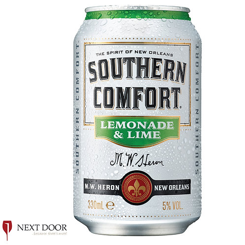 Southern Comfort Lemonade & Lime 330ml Can