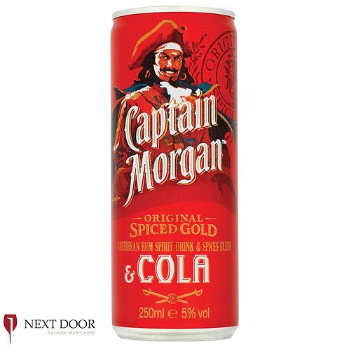Captain Morgan & Cola 250ml Can