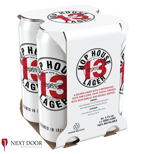 Hop House 13 4 X 500ml Can Pack