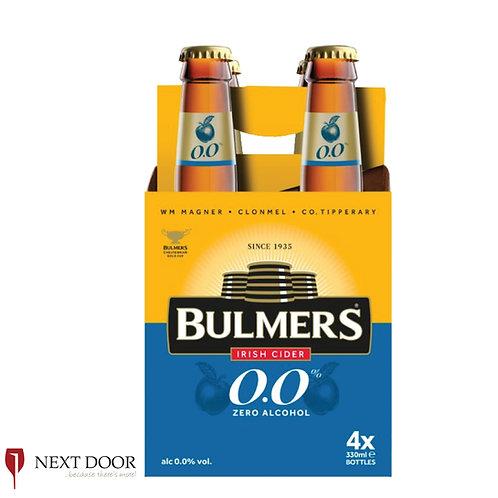 Bulmers 0.0% 4 X 330ml Bottle Pack