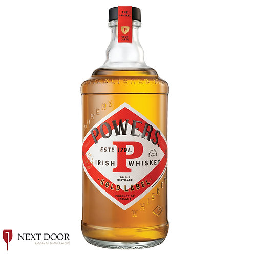 Powers Gold Label Irish Whiskey 700ml