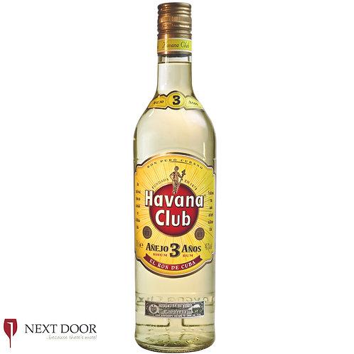 Havana Club 3 Year Old 700ml
