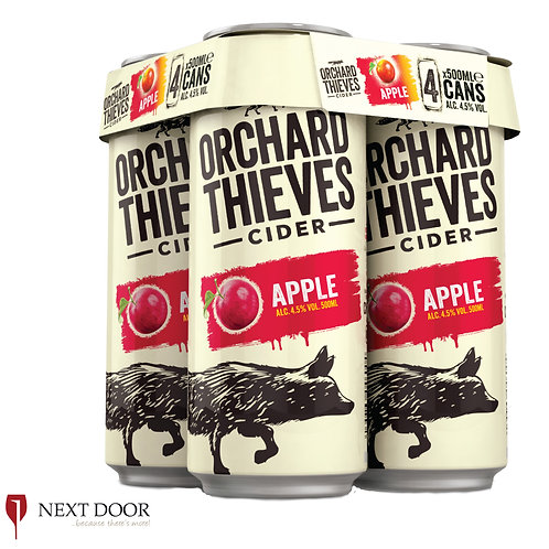 Orchard Thieves Cider 4 X 500ml Can Pack