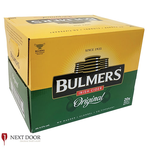 Bulmers Original 20 X 300ml Bottle Box