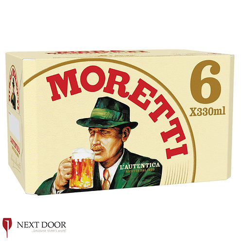Moretti 6 X 330ml Can Pack
