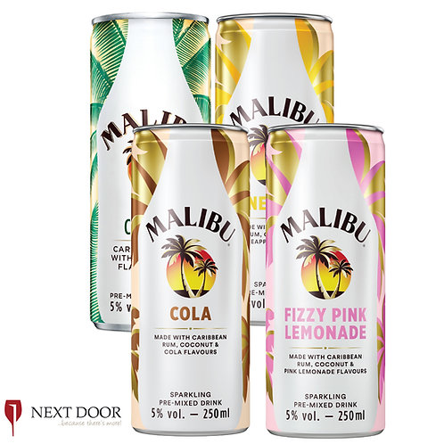 Malibu Premix 250ml Can
