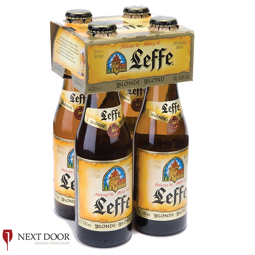 Leffe 4 X 330ml Bottle Pack
