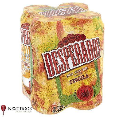 Desperados 4 X 500ml Can Pack