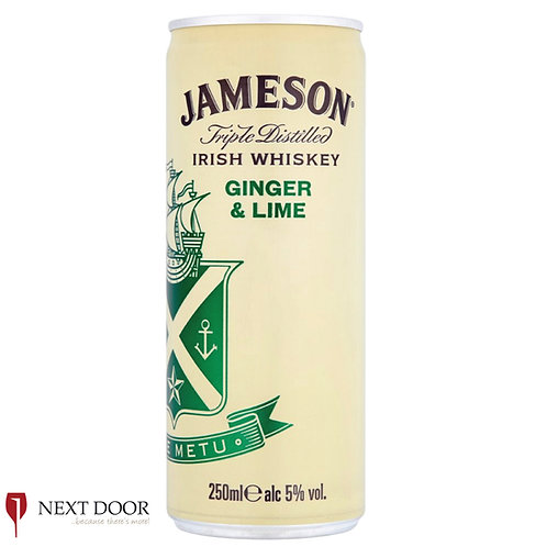 Jameson Ginger & Lime 250ml Can