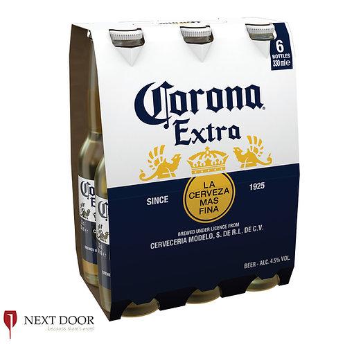 Corona Extra 6 X 330ml Bottle Pack