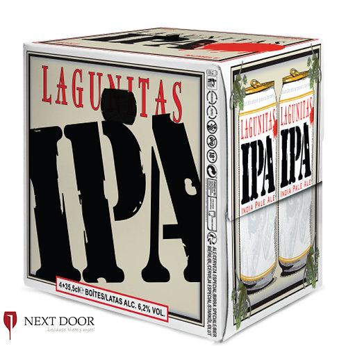 Lagunitas IPA 4 X 355ml Can Pack