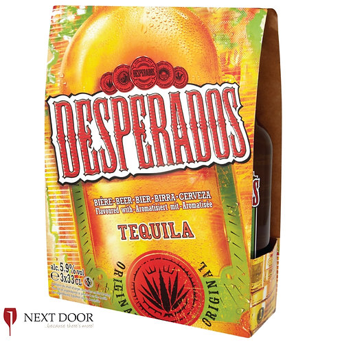 Desperados 3 X 330ml Bottle Pack