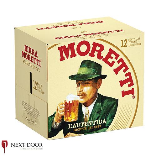 Moretti 12 X 330ml Bottle Box