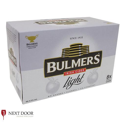 Bulmers Light 8 X 500ml Can Pack