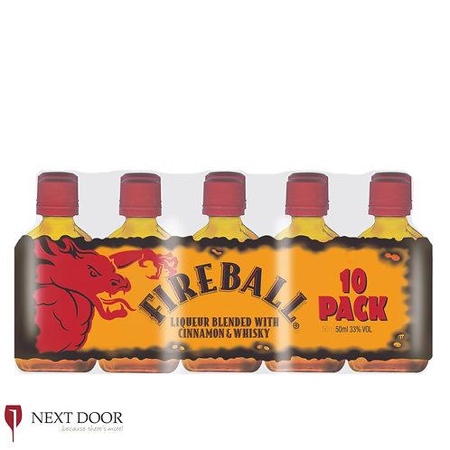 Fireball 10 X 50ml Pack