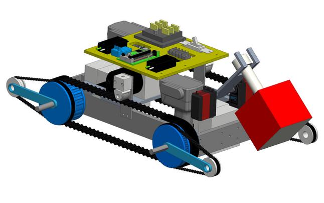 Autonomous Search and Rescue Robot