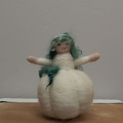 White Pumpkin person
