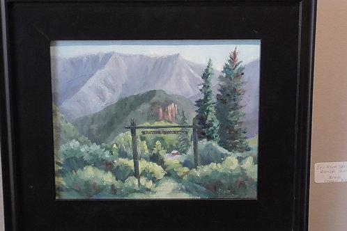 Erickshon Springs Ranch Gate