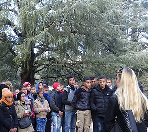 Liz AD Campbell Atlas Golden Wolf Project WildCRU outreach education awareness community engagemnt
