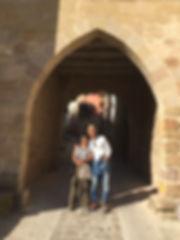 Pilgrims on El Camino de Santiago
