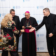 bishop Witold Mroziewski, bishop Nicholas DiMarzio, Rev. Patrick Keating