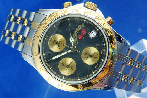 West End Watch CO Sowan Automatic Chronograph . Cal Valjoux 7750 . NOS 1