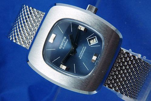 Sperina Automatic Gents Watch . Circa 1970S - NOS -21 jewel EB 8155