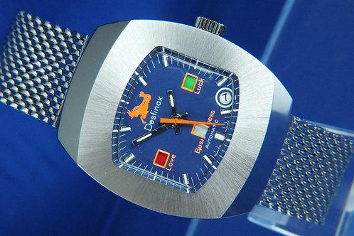 Destinax Astromatic Capricorn Star Sign Automatic Watch. Circa 1970s. Cal BF 158