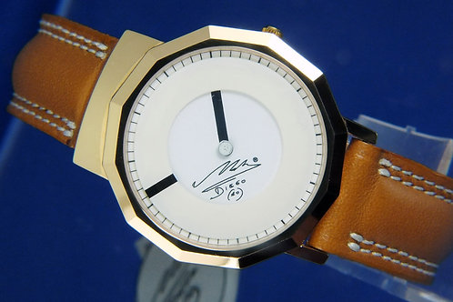 Diego Maradona Mystery Dial Quartz Watch . New Old Stock , Circa 1980s . Italy