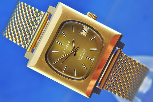 Edele Swiss Automatic Watch . Circa 1970s . New Old Stock - ETA 2784
