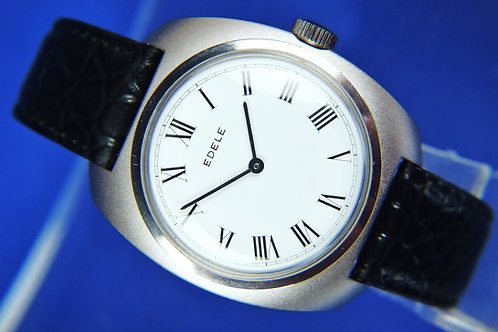 Edele Swiss Mechanical Watch . New Old Stock , Circa 1970s