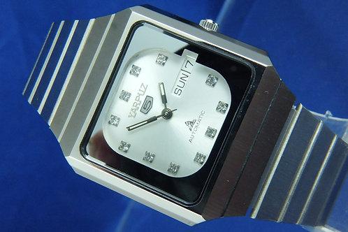 Yarpuz Automatic Swiss Watch . Circa 1970s . Never Worn . 25 Jewel INT 589 621