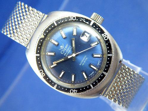 Cliper Automatic Skin Diver Watch . Vintage Circa 1970S . 25 Jewel ETA 2772