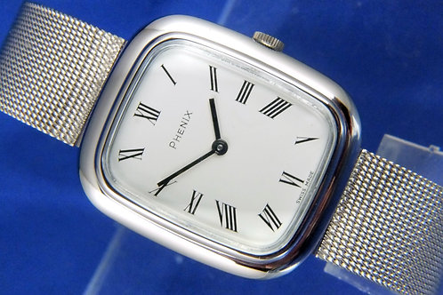 Phenix Mechanical Ladies Watch . Swiss made . NOS - Circa 1970s . Never Worn