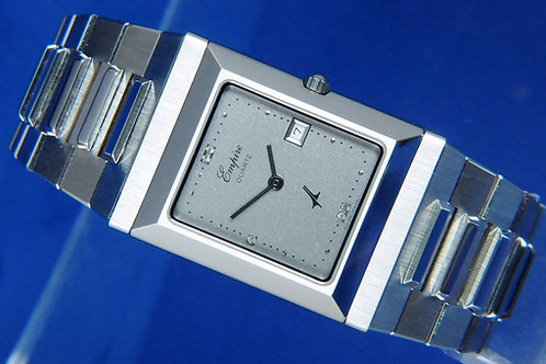 Empire Muslim Mecca Quartz Watch . 1984 Swiss .New Old Stock .FLIP FRONT Compass