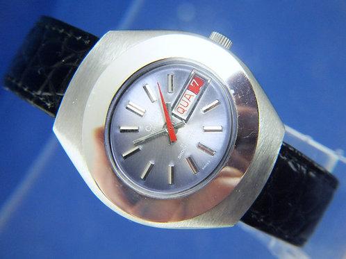 Capri Automatic Watch . Vintage Circa 1970S . NOS - Ronda 21 Jewel Cal 1239-21