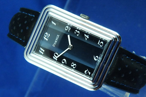 Phenix Revue Mechanical Swiss Fashion Watch . Circa 1970s . New Old Stock
