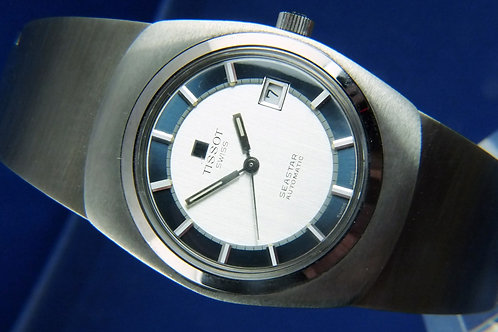 Tissot Seastar Automatic Gents Watch Caliber 2481 . New Old Stock . Circa 1970s