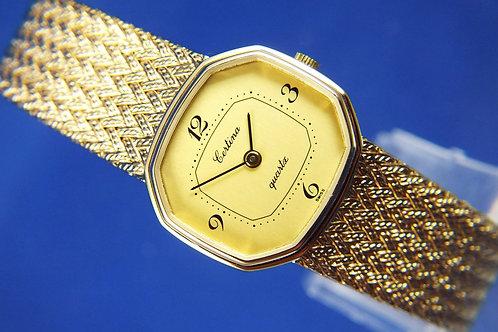 Certina Quartz Ladies Watch . Circa 1980s . New Old Stock
