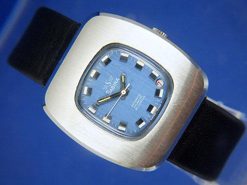 Sabina Automatic Gents Watch . Circa 1970S - NOS -25 Jewel ETA 2772
