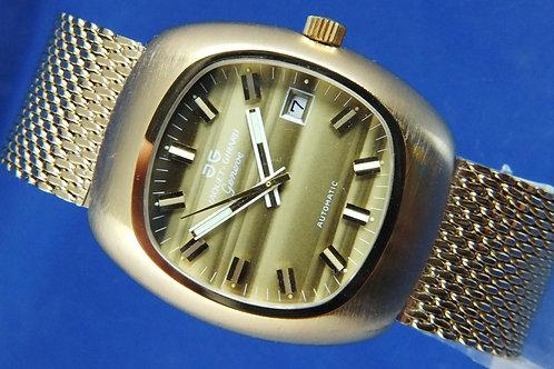 Jaquet Girard Airvac 6000 Automatic Watch . Circa 1970s . Tissot Cal 2481
