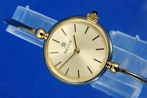 Revue Mechanical Fashion Watch . Circa 1970s , New Old Stock