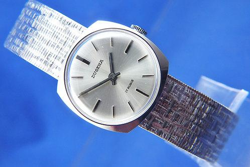Dugena Swiss Mechanical Watch . Circa 1960S , New Old Stock + Duplo-Fix