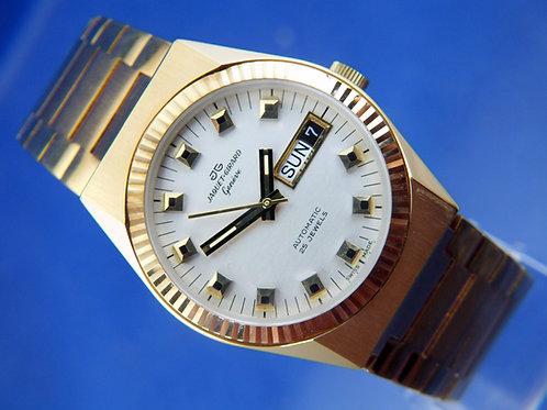 Jaquet Girard Automatic Watch . Circa 1970s , Swiss ETA 2789 25 Jewel. NEW OLD