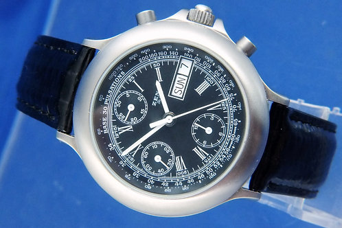 Zeno Automatic Chronograph Watch . Cal Valjoux 7750 . Never Worn
