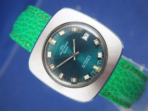 Jaquet Girard Automatic Watch . Circa 1970s . Swiss ETA 2782 . New Old Stock
