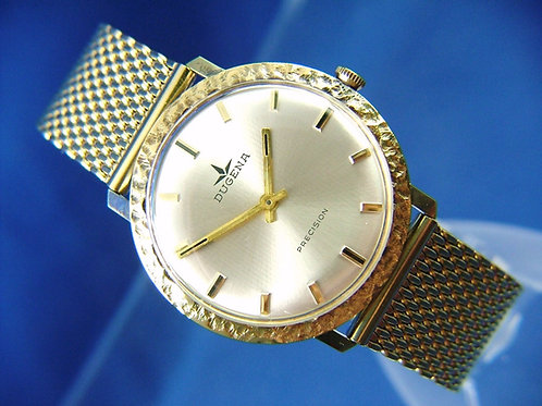 Dugena Mechanical Wind Up Watch . Circa 1960s . Swiss New Old Stock