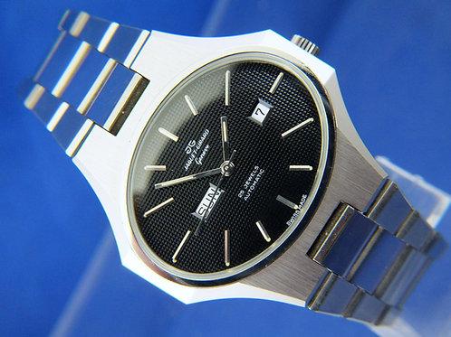 Jaquet Girard Geneve Automatic Watch , 1970s NOS . 25 Jewel Cal ETA 2789