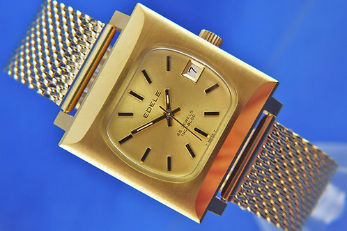 Edele Swiss Automatic Watch . Circa 1970s . New Old Stock - ETA 2784