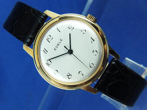 Edele Swiss Mechanical Watch . Circa 1960S Brand New Old Stock